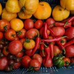 Tomaten pepers Mangelmoes